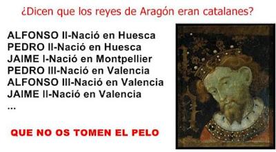 Reyes de Aragón, catalanes