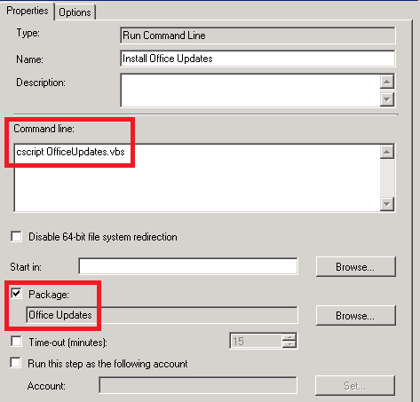 Henk's blog: Workaround for installing Office updates during