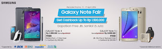 Samsung Galaxy Note Fair Promo di Erafone