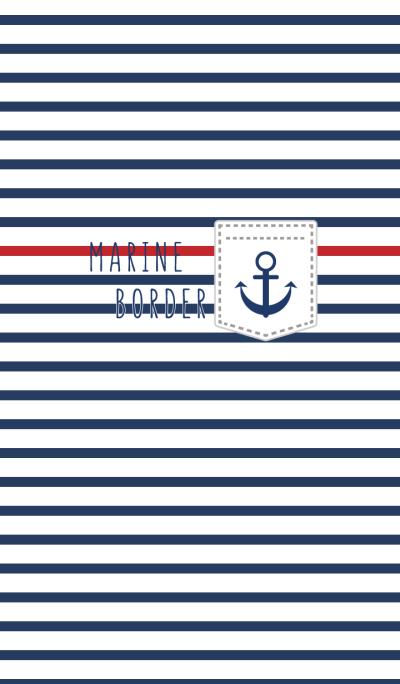 simple marine border WV