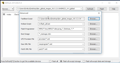 MiFlash2015 Fastboot Script