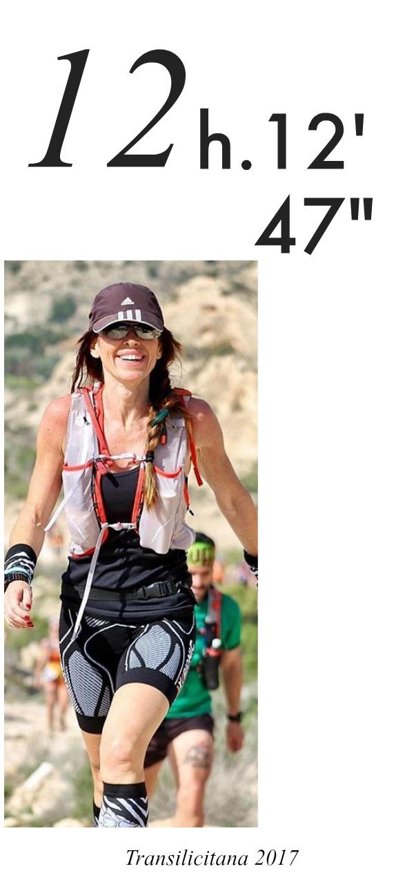 Transilicitana 2017 , María Mainez,  Tercera clasificada, Elche, Runner