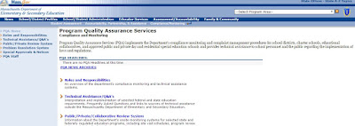 Program Quality Assurance Services