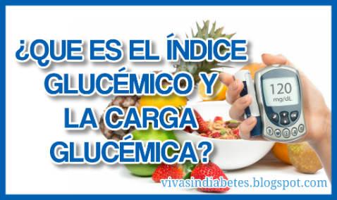 ¿Qué son el Índice Glucémico y la Carga Glucémica de los alimentos?