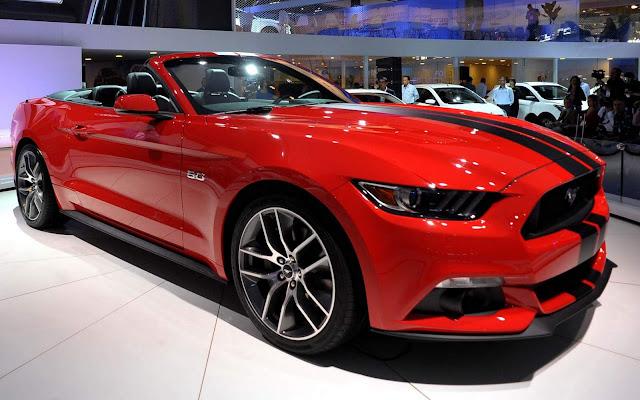Ford Mustang 2017 - Brasil