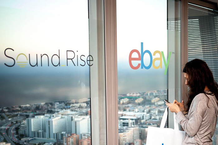 Ebay SoundRise la primera health
