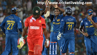 sl vs zim 2nd match live cricket january 2018