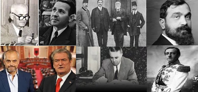 Albanian Prime Ministers in 105 years; 7 killed, 10 sentenced to death, 3 imprisoned