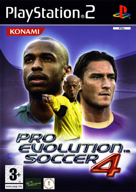 Pro Evolution Soccer 4 ps2 iso rom download