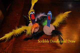 Easy turkey craft for preschoolers and kindergarten