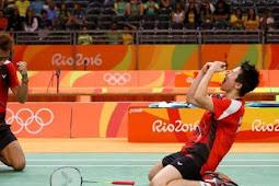 HUT RI Ke-71 Tontowi/Liliyana Raih Emas Olimpiade Rio