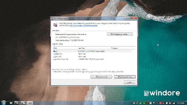 Defrag Harddisk untuk Mempercepat Kinerja PC