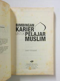 Bimbingan Karier Untuk Pelajar Muslim