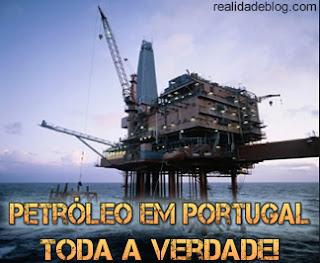 petroleo em Portugal