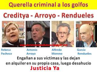 http://alertatramaestafadores.blogspot.com/2016/03/desahucio-paralizado-y-querella.html