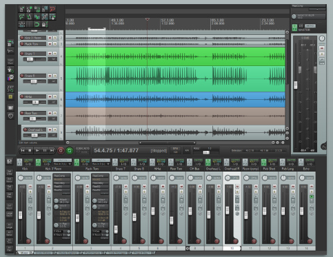 Best Audio editing software - REAPER
