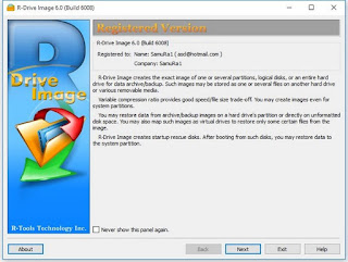 R-Drive Image Technician 6.1 Build 6100 BootCD