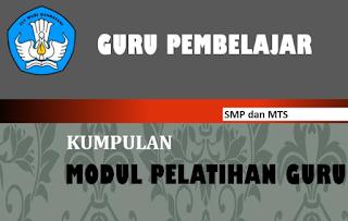 Modul Guru Pembelajar Bahasa Indonesia SMP