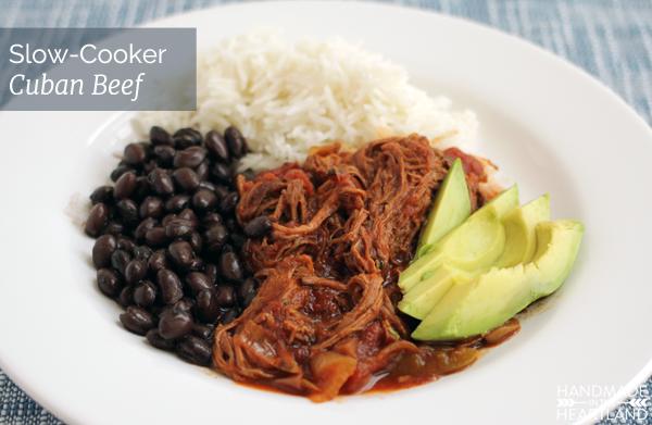 Slow Cooker Cuban Beef Recipe
