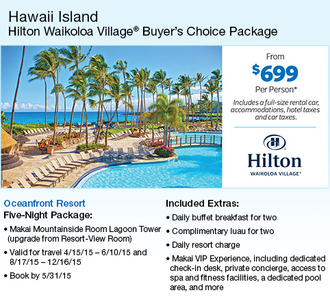 Vacation Packages