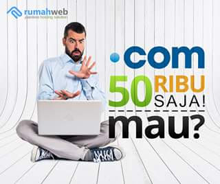 romo Domain .com 50ribu