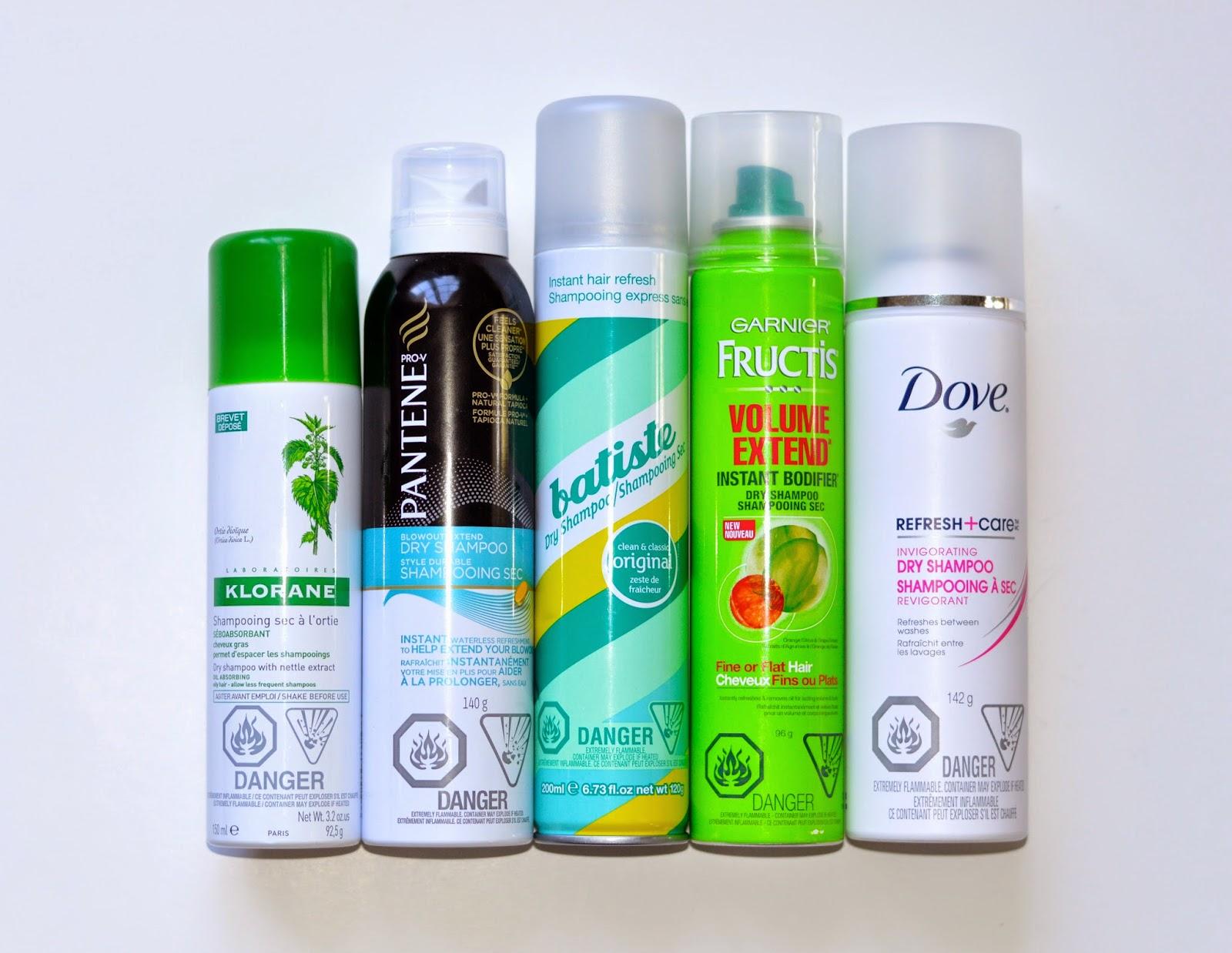 best drugstore dry shampoo