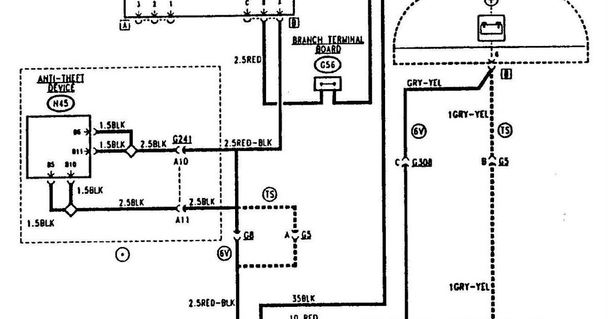 Alfa Romeo 155 Starting and Charging Circuit Diagram ... on