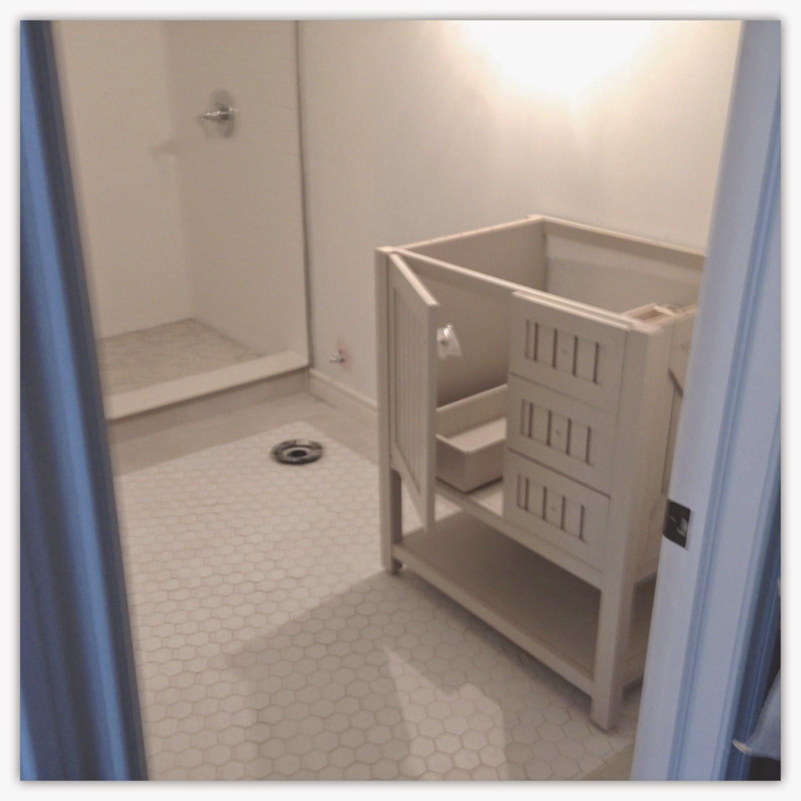 2Perfection Decor: Basement Bathroom Progress
