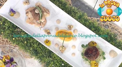 Ricetta della Trilogia di porcini da Prova del Cuoco
