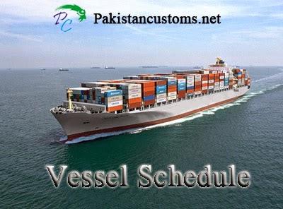 Qict Vessel Schedule