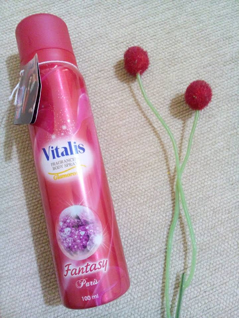 Vitalis Glamorous Fragranced Body Spray Fantasy