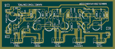 pcb layout Namec Tone Control