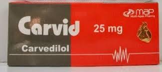 كارفيد Carvid لعلاج أرتفاع ضغط الدم