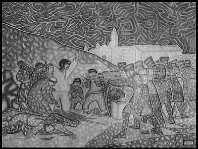 """Homenaje a Goya - Martín Vicente Lozano"