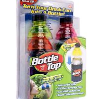 Conservez vos soda en cannette grâce à Koozie de Boottle Top