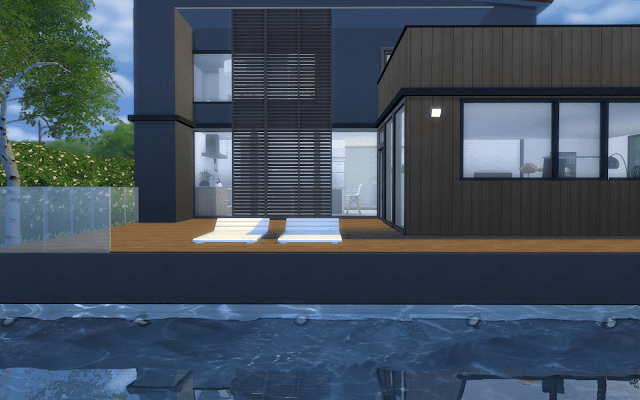 villa design sims 4