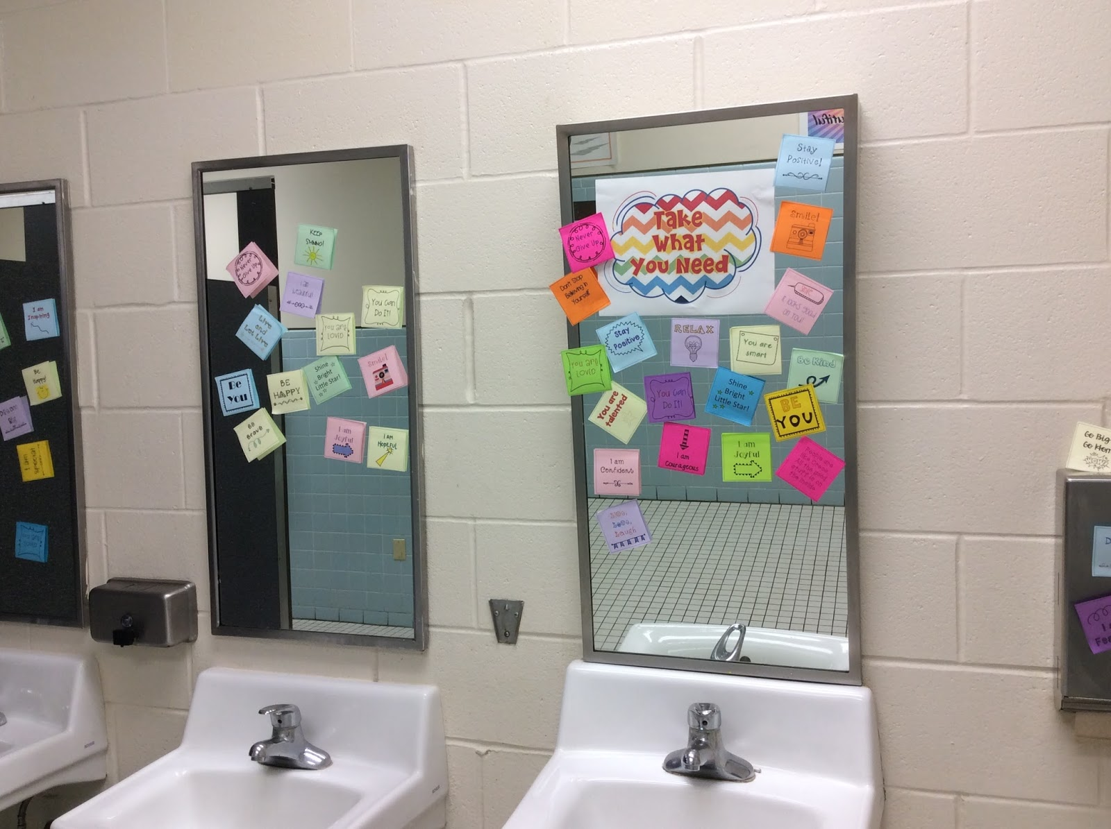 how post it notes can change school climate the middle school counselor. Black Bedroom Furniture Sets. Home Design Ideas