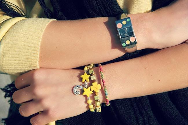 Glam Chameleon handmade bracelets