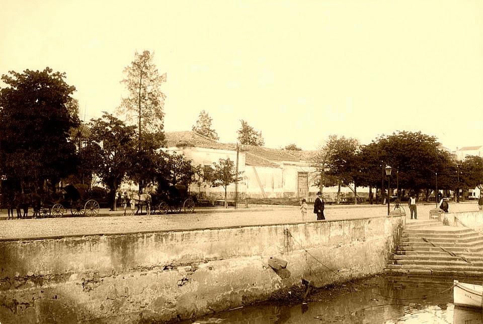 Cais do Porto de Porto Alegre, em 1890