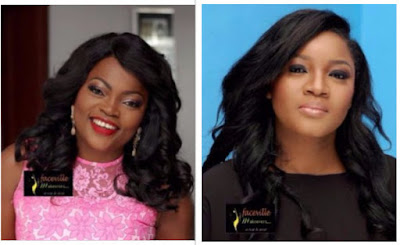 Image result for Omotola Jalade Snubs Funke Akindele Birthday As She Extends Love To Rukky .