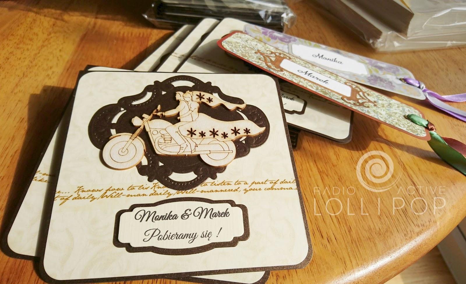 Zaproszenia ślubne Hand Made Made In Poland Dravska