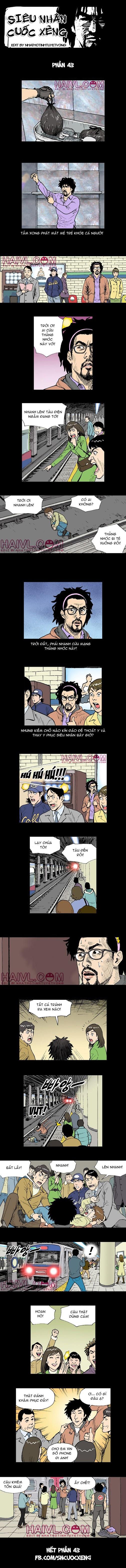 Siêu nhân Cuốc Xẻng (full bộ) phần 43