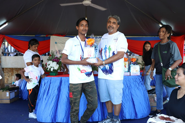 SPRIT OF WIPRO RUN, SPRIT OF WIPRO RUN 2018, #WeBeforeMe, CARRIE JUNIOR, WALK A HUNT.CUP CAKE DECORATION, FLOWER ARRANGEMENT, RUN, RUNNING 2018, SPORT FOR ALL, PUTRAJAYA,