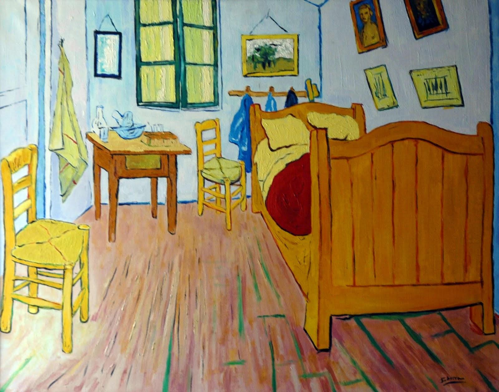 Plastificando ilusiones primer cuadro de van gogh - Cuadros de habitacion ...