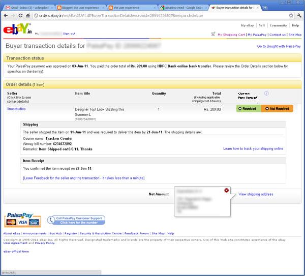 Nice Ebay Receipt Template Motif Professional Resume Examples