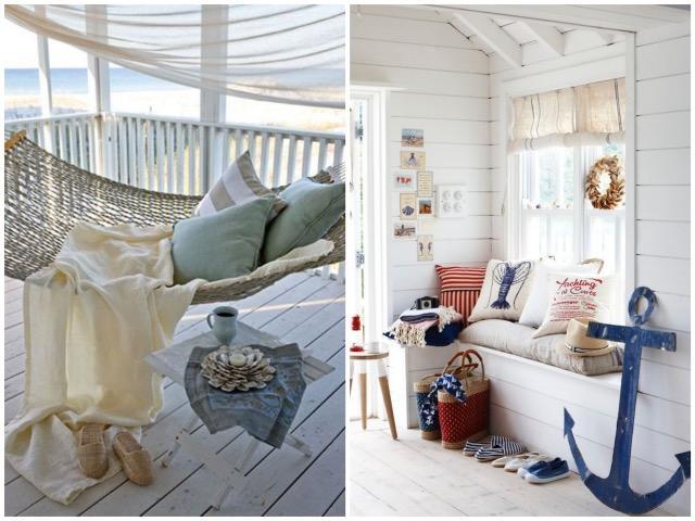Rideau bord de mer le blog des rideaux - Rideau style bord de mer ...