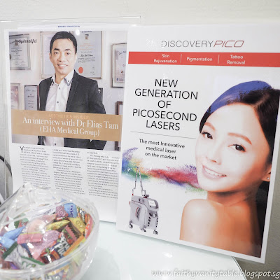 Review of DiscoveryPICO Laser session with EHA