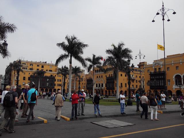Plaza de Armas o Plaza Mayor de Lima, Perú