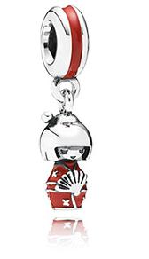 Charm poupée japonaise PANDORA