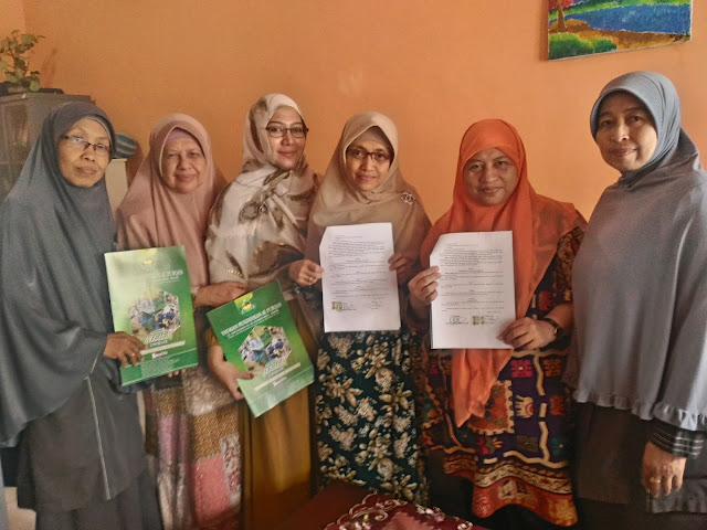 Kerjasama dengan rumah Qur'an Al Istiqlali